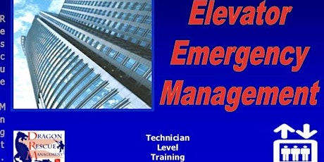 Elevator Emergency Management - Technician Level - October 7, 2020 tickets