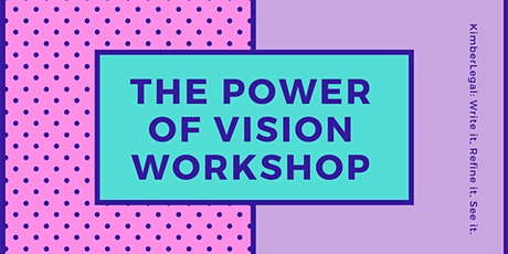 The Power of Vision Workshop tickets