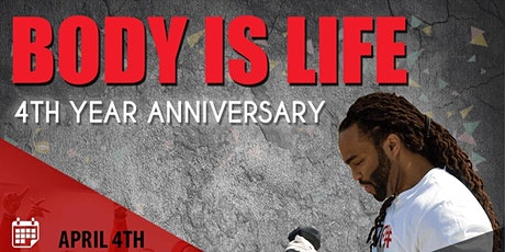 Body is Life 4th Year Anniversary FitCamp and Party tickets