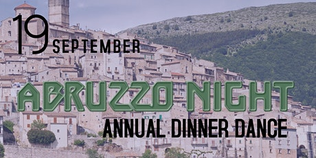 Abbruzzo Night Dinner Dance tickets
