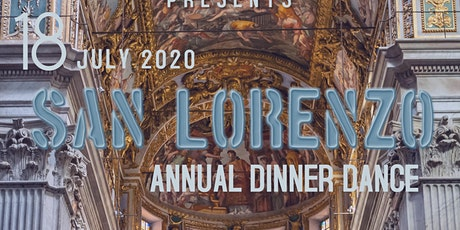 SAN  LORENZO Annual Dinner Dance 2020 tickets