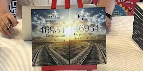 """Présentation et dédicace de la trilogie """"46934 le paradoxe des étaux"""" billets"""
