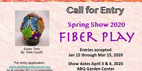 Albuquerque Fiber Arts Spring Show 2020: Fiber Play! tickets