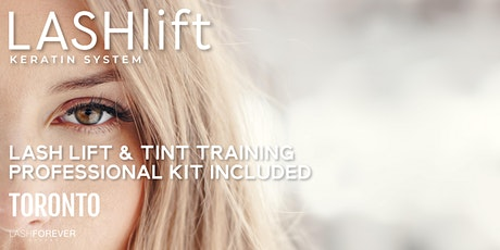 Lash Lift & Tint Training with Lashforever Canada tickets