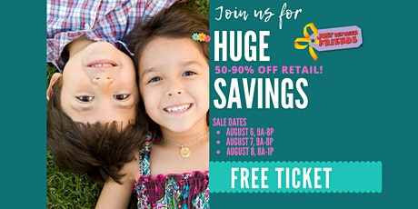 Sugar Land JBF Back to School 2020 Huge Kids/Maternity Event: Public Sale Pass tickets