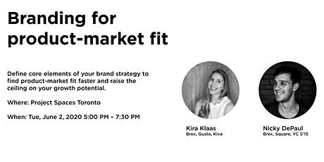 Branding for product-market fit: A workshop for startup leaders tickets