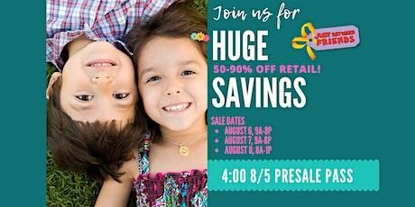 Sugar Land JBF Fall 2020 Huge Kids/Maternity Event: Exclusive FREE PreSale Pass tickets
