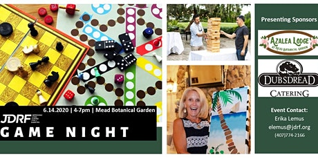 JDRF Central Florida's GAME NIGHT! tickets