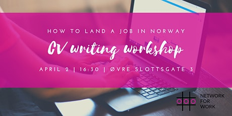 How to Land a Job in Norway: CV Workshop tickets