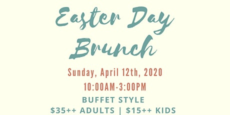 Easter Day Brunch Buffet tickets