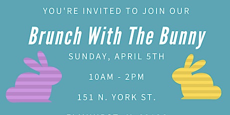Brunch With The Easter Bunny tickets