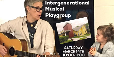 Playgroups with a Purpose: Intergenerational Music Class tickets