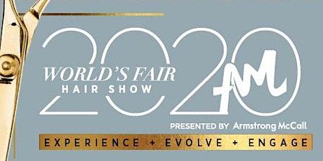 World's Fair Hair Show 2020   Armstrong McCall tickets