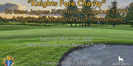 14TH ANNUAL KNIGHTS OF COLUMBUS COUNCIL 11098 CHARITY GOLF TOURNAMENT  tickets