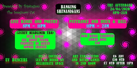 Tripington Presents: Banging Shenanigans tickets