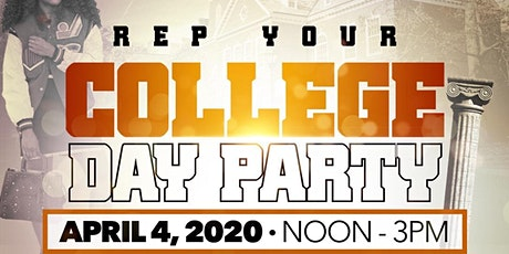 Postponed-TUSKEGEE ALUMNI CLUB - REP YOUR COLLEGE DAY PARTY tickets