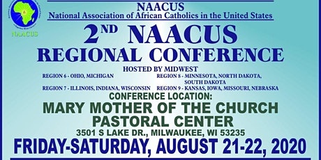 2ND NAACUS Regional Conference on August 21-22, 2020 in Milwaukee Wisconsin tickets
