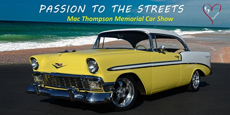 Passion to the Streets 2020 Car Show tickets