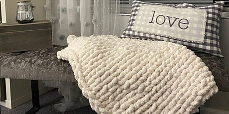 Chunky Knit Throw or Baby Blanket Workshop tickets