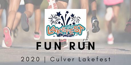 Culver Lakefest FUN RUN tickets