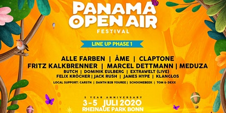 Panama Open Air Festival 2020 - 5th. Anniversary Tickets
