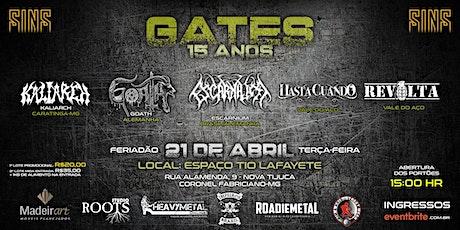 GATES 2020 ingressos