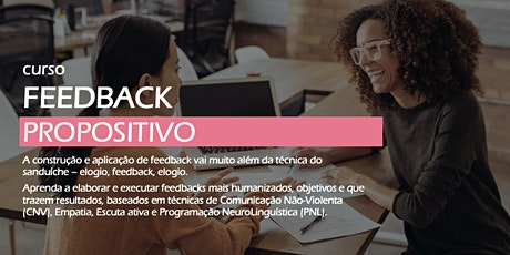 Feedback Propositivo: muito além do feedback sanduíche [Turma de Abril em Brasília] ingressos