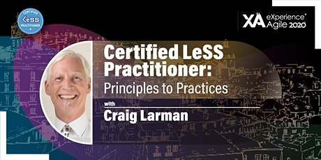 Certified LeSS Practitioner: Principles to Practices tickets