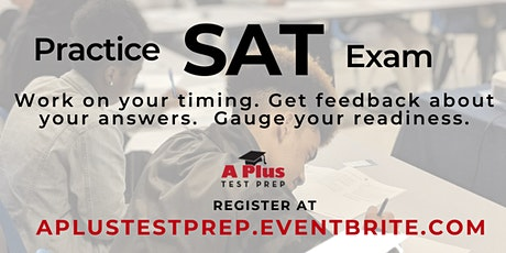 SAT Practice Exam & Free Parent Support Session. June 17 tickets
