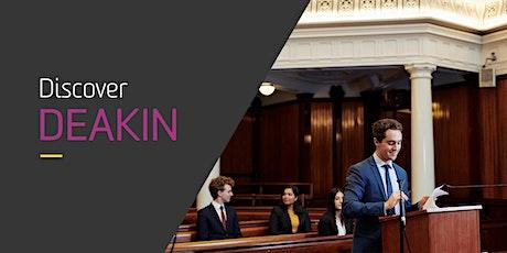 Deakin's Law Online Information Session tickets