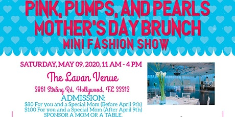 4th Annual Pink, Pumps & Pearls Mother's Day Brunch tickets