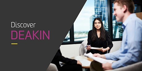 Deakin Psychology & Marketing or Human Resources Online Information Session tickets