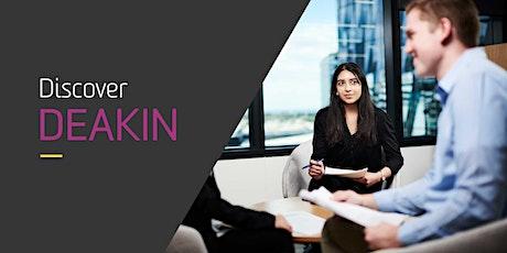 Deakin's Marketing (Psychology) & Human Resources (Psychology) Webinar tickets