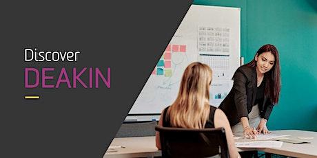 Deakin's Business Analytics  Online Information Session tickets