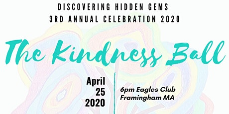 "DHG's 3rd Annual Celebration 2020 - ""The Kindness Ball"" tickets"