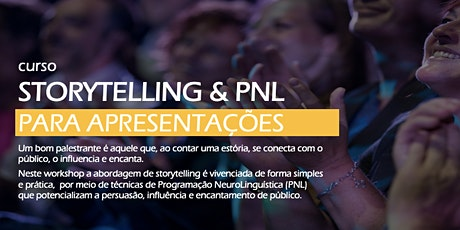 Storytelling & PNL para Apresentações [Turma de Maio em Brasília] tickets