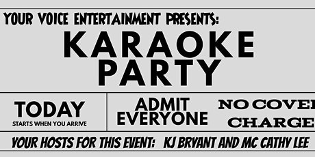 Karaoke Wednesdays - Canceled due to COVID19 until further notice. tickets