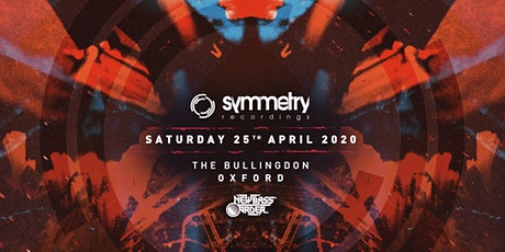 New Bass Order » Symmetry Recordings Oxford tickets