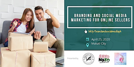 Branding & Social Media Marketing for Online Sellers tickets