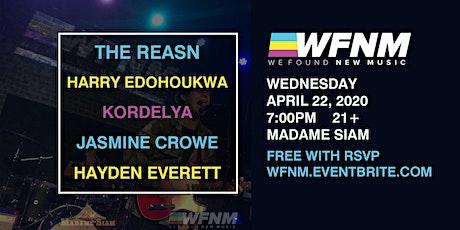 THE REASN / HARRY EDOHOUKWA / KORDELYA / JASMINE CROWE / HAYDEN EVERETT tickets