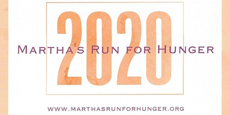 Martha's Run for Hunger 2020 tickets