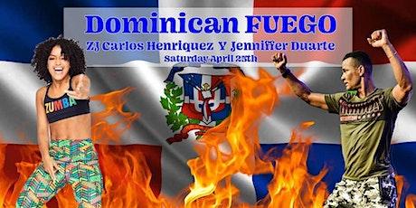 Dominican Fuego - Zumba MC with ZJ Carlos Henriquez & ZIN Jennifer Duarte tickets
