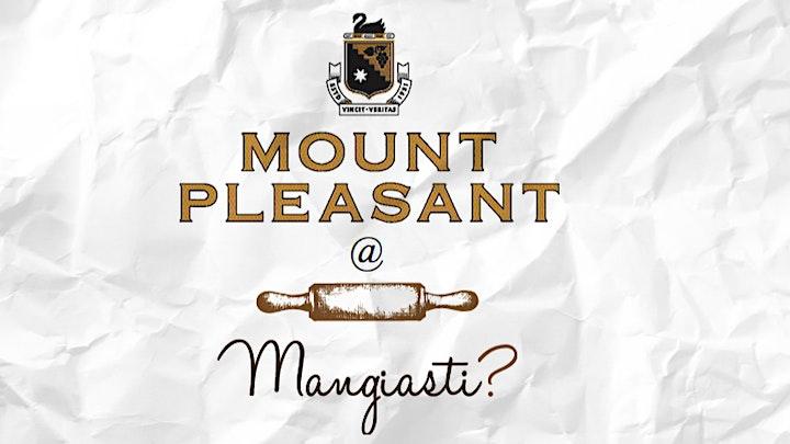 Mount Pleasant Wine Dinner @ Mangiasti w/ Adrian Sparks image