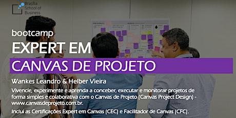 Bootcamp Expert em Canvas de Projeto com Wankes Leandro & Helber Vieira [Turma única no 1o semestre/2020] ingressos