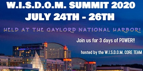 W.I.S.D.O.M. SUMMIT 2020 tickets