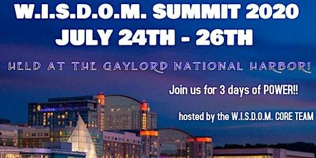 W.I.S.D.O.M. SUMMIT 2020 tickets
