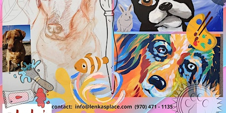 Paint your pet on Sunday tickets