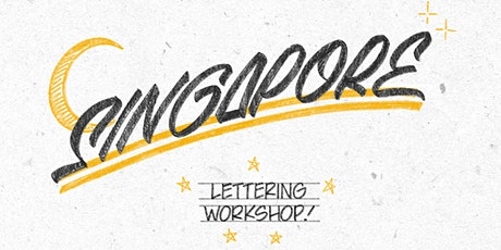 Lettering Workshop by Gaston the Painter for graphic recording & Visualiser tickets