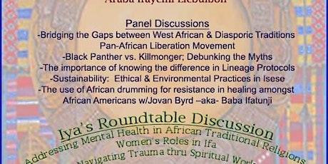 Ile Arira Isese Agbaye Orisa/Ifa Symposium tickets