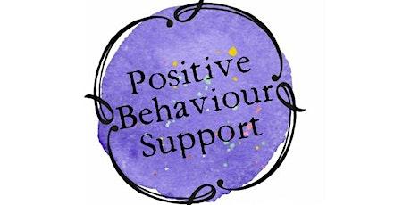 Positive Behaviour Support Series Workshop 4: Writing a Positive Behaviour Support Plan tickets